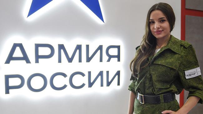Ryska militären mindre skrämmande än invandring. Foto: tvzvezda.ru