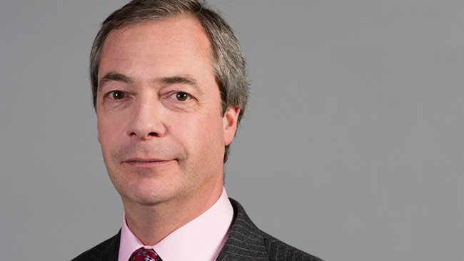 Nigel Farage. Foto: Wikimedia Commons