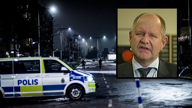 """Eliasson lovar att """"vända trenden"""" om den grova brottsligheten"""