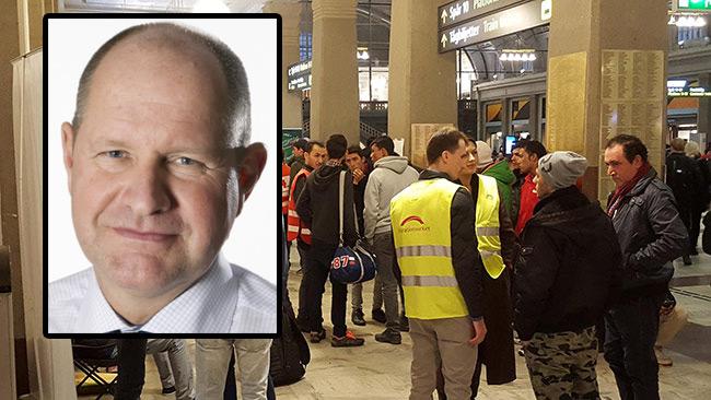 """Eliasson """"ansåg"""" inte att det behövdes gränskontroller. Foto: Lars Hedelin samt Nyheter Idag"""
