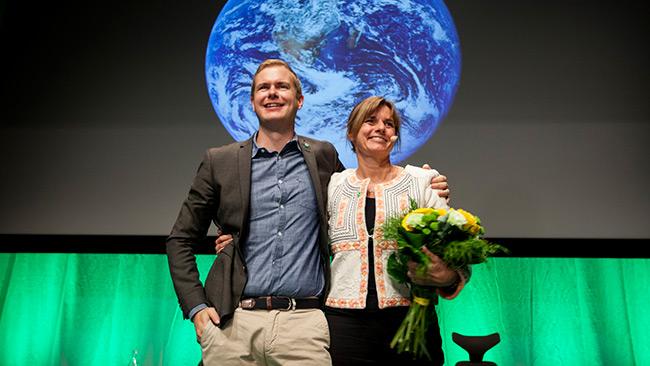 Språkrören Fridolin och Lövin. Foto: CC Fredrik Hjerling