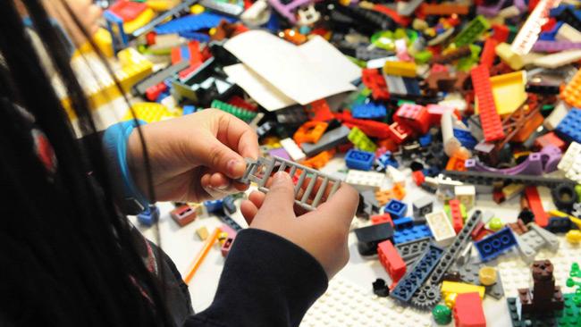 Lego vill inte annonsera mot invandringskritiker. Foto: Pressbild lego.com