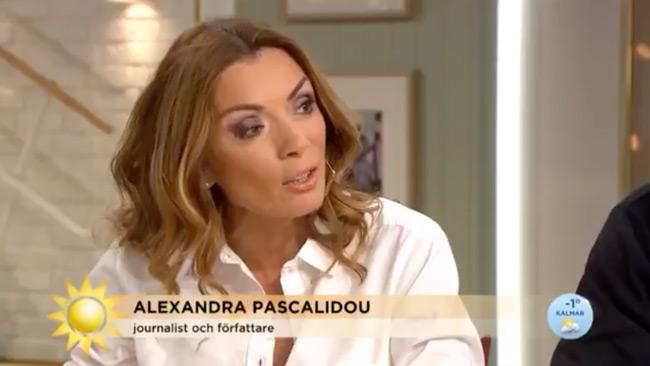Pascalidou är en journalist och författare. Foto: Faksimil TV4