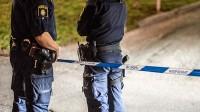Poliser i Järvaområdet. Bilden är tagen vid ett annat tillfälle. Foto: Nyheter Idag