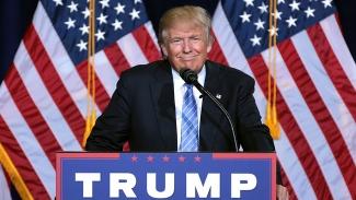 Trump nobbar ramadanfirande