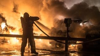 Asylsökande fick avslag av migrationsverket: Då tände han eld på asylboendet
