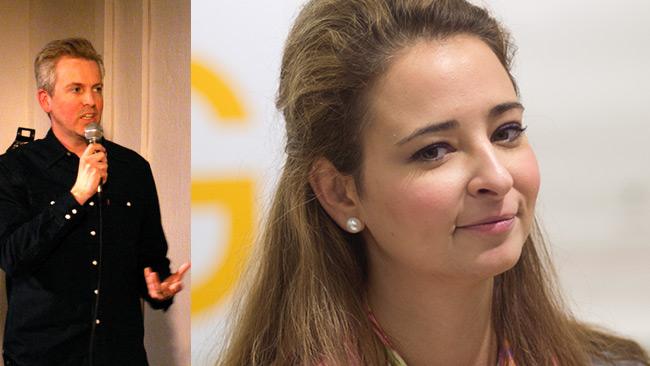 Hagberg (t.v) och Teodorescu (t.h). Foto: CC Per A.J Andersson samt Nyheter Idag