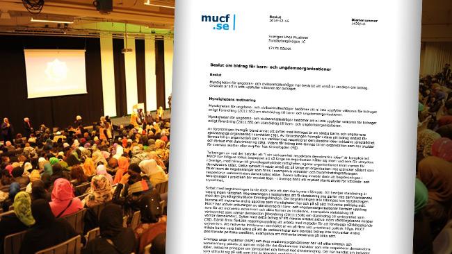 Beslutet från MUCF väcker frågor. Foto: Facebook