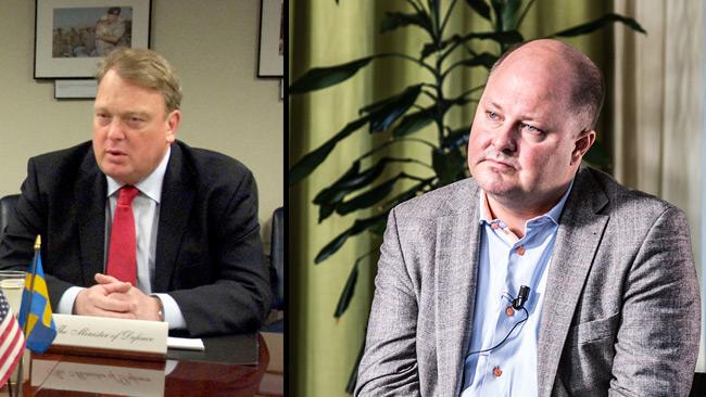 Mikael Odenberg (t.v) och Thomas Mattsson (t.h). Foto: Wikimedia Commons samt Nyheter Idag