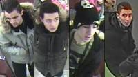 Polisen efterlyser sju personer för mordförsöket. Foto: Polisen i Berlin