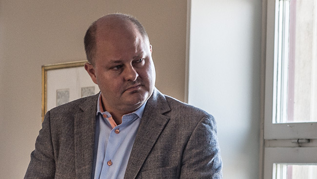 Expressens chefredaktör Thomas Mattsson. Foto: Nyheter Idag