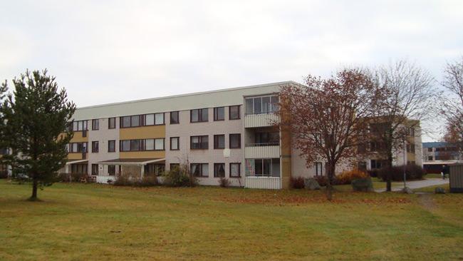 Bostäder i Tjärna Ängar. Foto: Calle Eklund / Wikimedia Commons