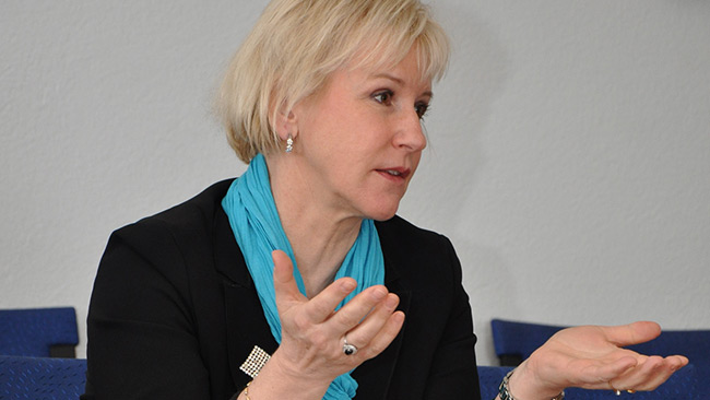 Margot Wallström. Foto: Wikimedia Commons
