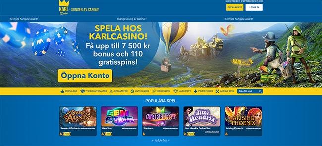 Framtidens casinospel sker på nätet