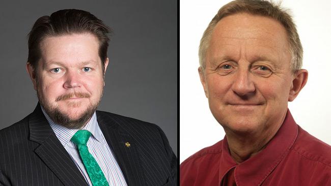 Hedin (t.v) och Danielsson (t.h). Foto: Pressbilder