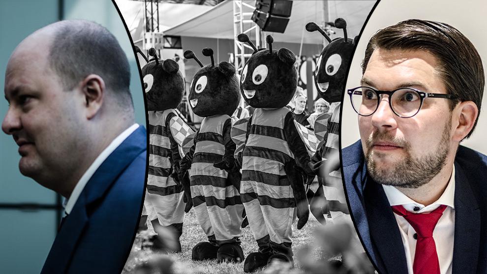 Expressen vägrar kommentera det hemliga mötet med Sverigedemokraterna. Foto: Nyheter Idag