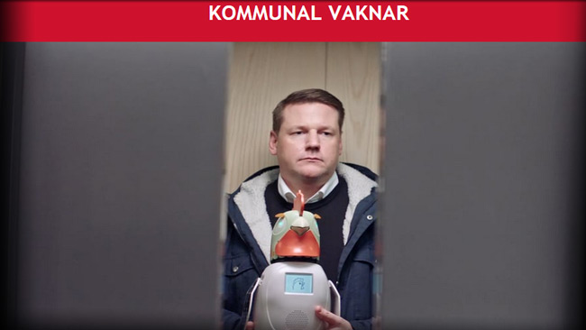 Kommunals ordförande Tobias Baudin Faksimil kommunal.se