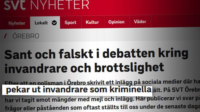 Foto: Faksimil SVT.se