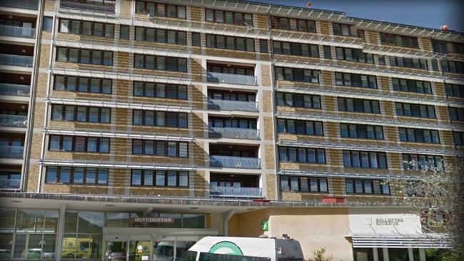 Sjukhuset i Sollefteå. Foto: faksimil Google Maps
