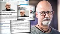 Det finns ingen formell misstanke mot Springare, tvärt emot vad medier rapporterat. Foto: Nyheter Idag samt faksimil omni.se samt aftonbladet.se