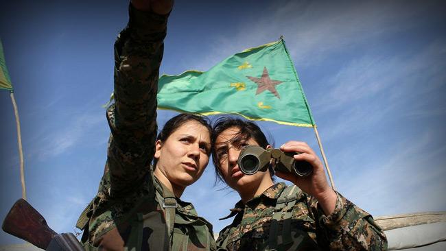 YPJ-soldater Foto: Flickr