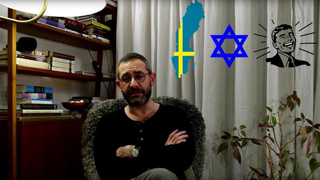 Arom förklarar varför han stöder Pewdiepie efter kontroversen. Foto: Faksimil Youtube
