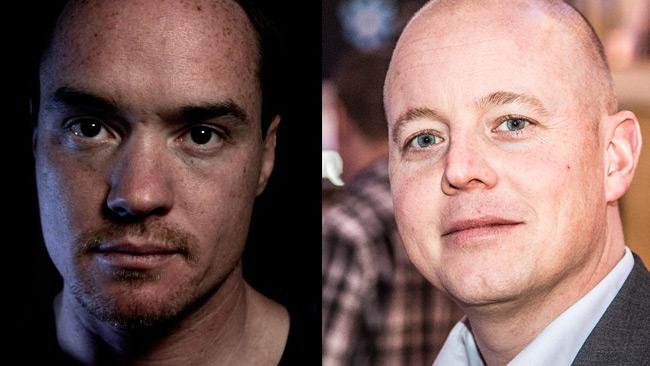 Kent Ekeroth (t.v) och Björn Söder (t.h). Foto: Nyheter Idag