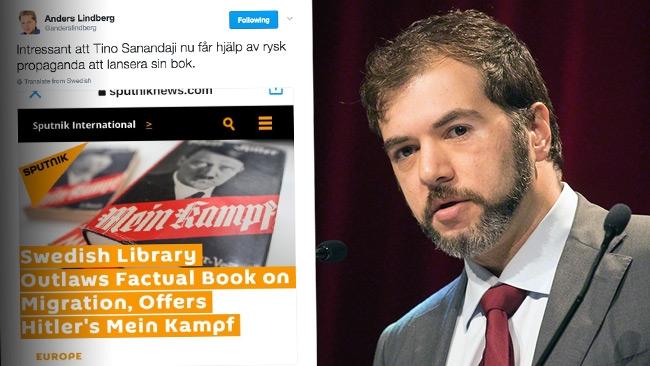 """Sanandaji rasar mot Lindbergs ryss-attack: """"Aftonbladets ledarsida agerar mer som en hatsajt"""""""