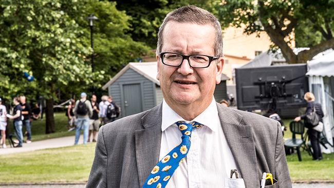 Den S-märkta statsvetaren Stig-Björn Ljunggren. Foto: Nyheter Idag