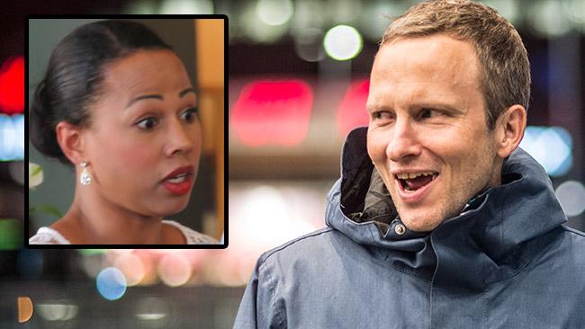 Anders Holmberg (t.h) och Alice Bah Kuhnke (t.v). Foto: Nyheter Idag