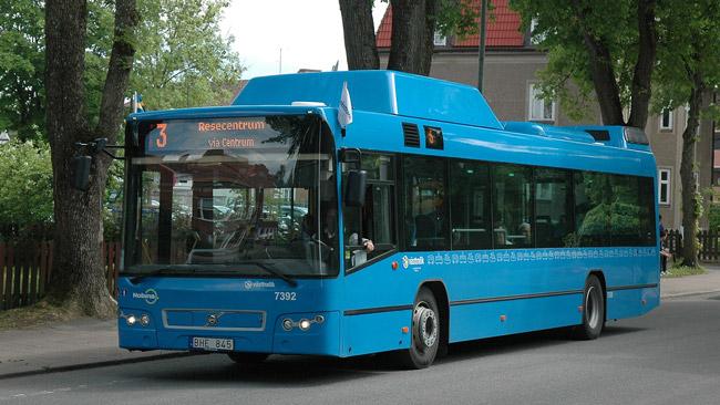En av Västtrafiks bussar. Foto: CC Gunnar Creutz / Wikipedia Commons