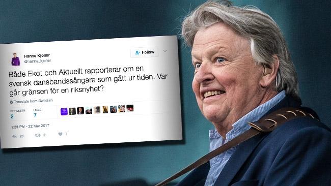 """Expressen-profilen om bortgångne Sven-Erik Magnusson: """"Var går gränsen för en riksnyhet?"""""""