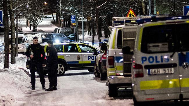 Två personer sköts i huvudet i Kista på onsdagen. Foto: Nyheter Idag