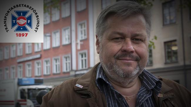 Foto: Justina Öster / TRANSPORTARBETARFÖRBUNDET