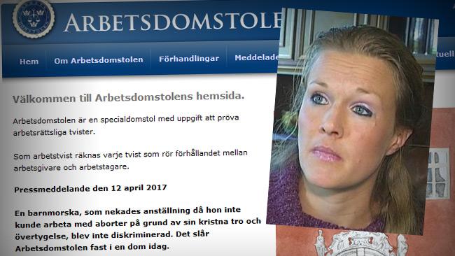 Foto: Fakismil SVT.se samt arbetsdomstolen.se