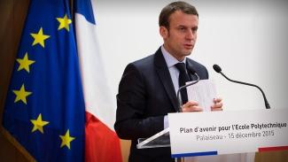 Macron pressar Storbritannien till att ta emot fler migranter