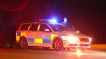Bilar tagna i beslag efter polisrazzia mot EU-migrantläger i Uppsala