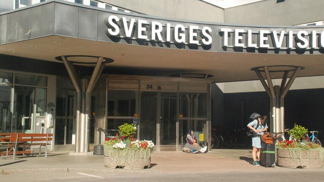 SVT-huset i Stockholm. Foto: Mattias Albinsson / FT Bild