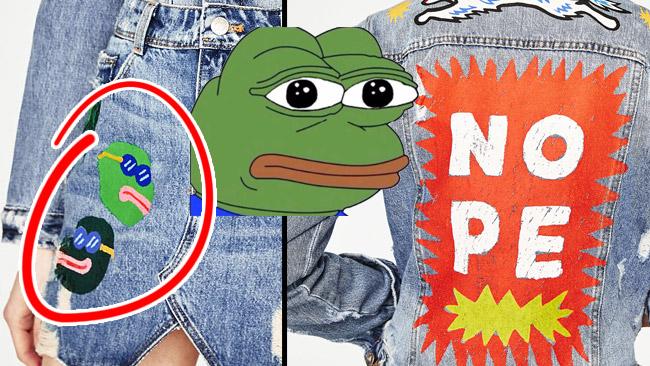 Nog är det slående likt Pepe the Frog?
