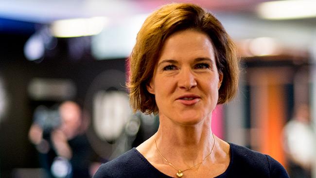 M-ledaren Anna Kinberg Batra. Foto: Nyheter Idag