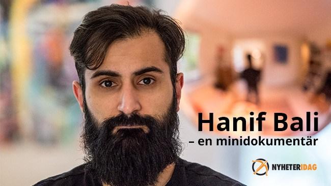 Hanif Bali har fel och berättar hur SD-skräcken hjälpte honom få körkort