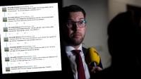 SD:s presschef reagerar starkt på TV4-journalistens twittrande om Åkesson. Foto: Nyheter Idag