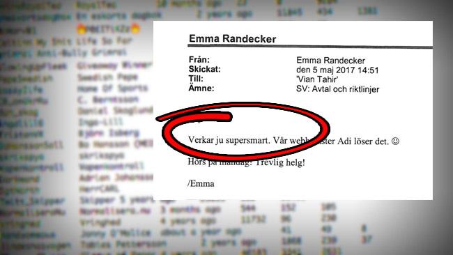 """""""Supersmart"""" tyckte Randecker om idén att importera ett register över Twitteranvändare."""