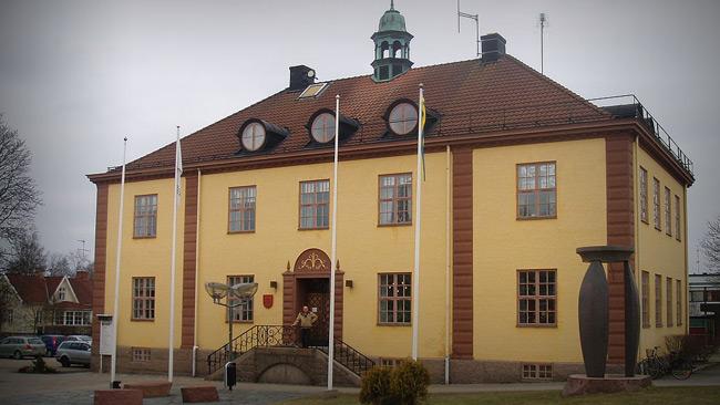 Uppvidinges kommunhus. Foto: Wikipedia