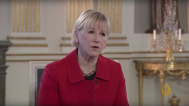 """Margot Wallström skakade inte hand med Irans utrikesminister: """"Det gör vi aldrig"""""""