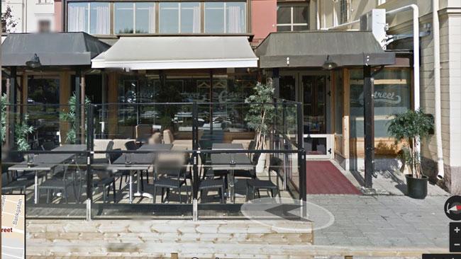 Restaurang E-street Bild: Google