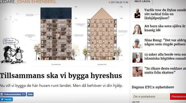"""Vänstertidningen ETC ger sig in i byggbranschen: """"Nu startar vi projektet ETC Bygg"""""""