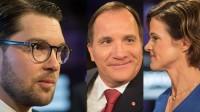 Åkesson leder återigen största partiet. Foto: Nyheter Idag