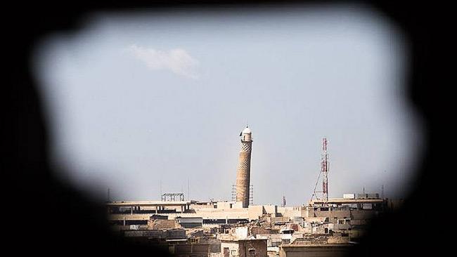 Moskén sedd från ett sniperhål. Foto: Flickr