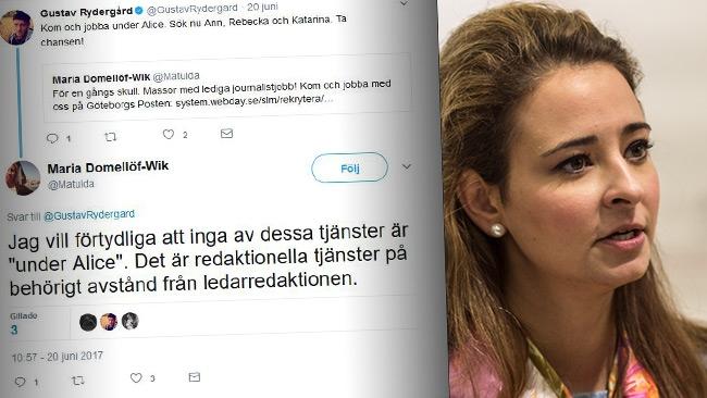 Kulturredaktör på GP anklagas för mobbing mot Alice Teodorescu
